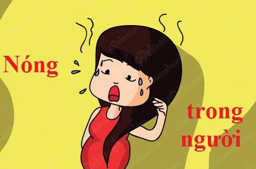 Nguyên nhân nóng trong người